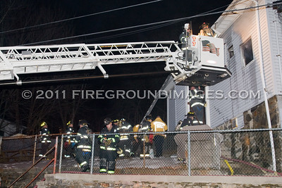 May St. Fire (Ansonia, CT) 1/4/11