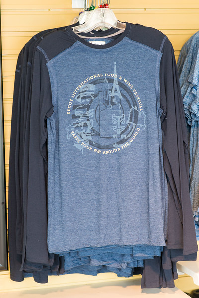 Food & Wine Long-sleeved T-shirt - Epcot Food & Wine Festival 2016