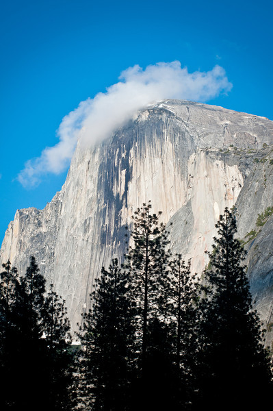 Clouds over El Capitan