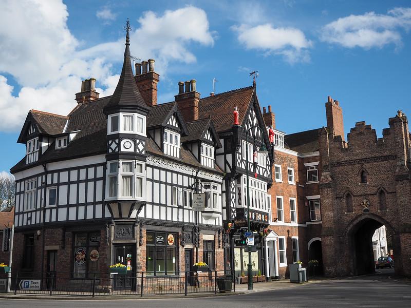 North Bar Gate in Beverley, England