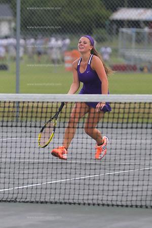 West Bladen women tennis 2015 Fairmont