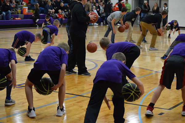 Durand Little Dribblers (halftime of Durand boys vs. Arcadia) Dec. 21, 2018