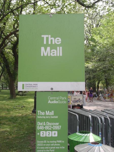043_New York City. Central Park Tour. The Mall.JPG
