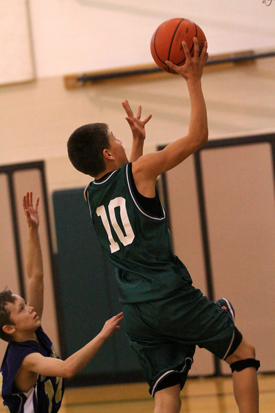 the 7th grade boys basketball vs timberlake 2-15-2011