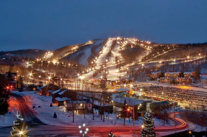 Ski Bromont  ski de soirée  Bromont