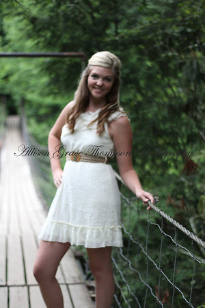 Allison's Senior Pictures at Fall Creek Falls