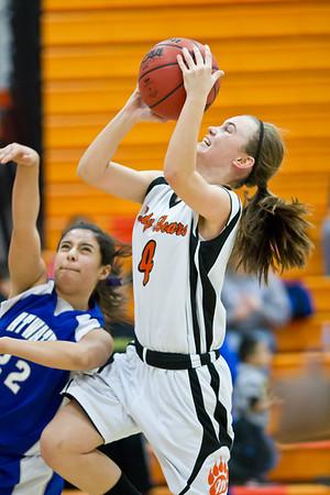 MHS Girls BBall vs Atwater Jan 28 2012