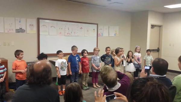 2015, Olivia Kindergarten Graduation