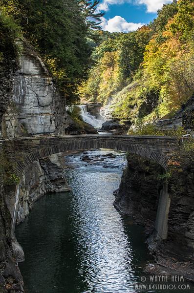 Bridge Over Canyon   Photography by Wayne Heim