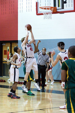 LHS FRESHMEN BOYS BB vs NSHS 2/11/11