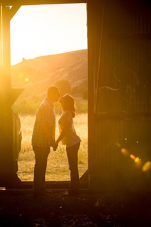Lisa and Mario (Engagement Photography, Coyote Creek Trail, Morgan Hill, California)