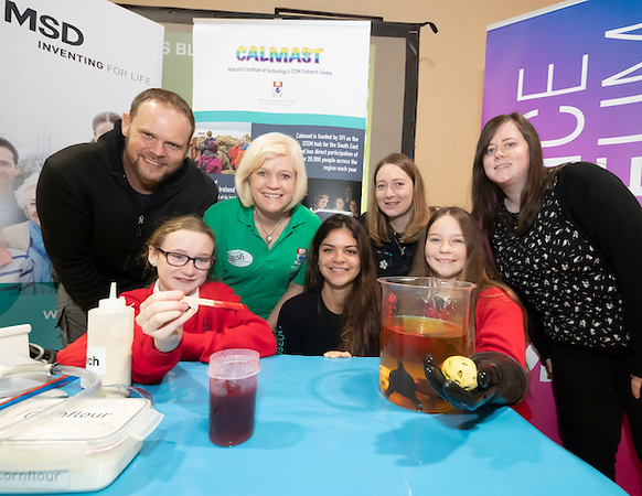 FREE TO USE IMAGE. Pictured during Science Week with WIT (Waterford Institute of Technology) by Calmast. Pictured during the Blood show with the London Science Museum at the Presentation Primary school, Clonmel. Picture: Patrick Browne