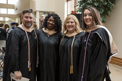 December 2018 - Graduate Hooding Ceremony