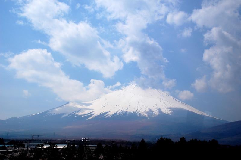 Mount Fuji viewed from near Lake Yamanaka