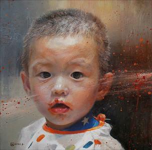 """""""Raspberry jam"""" (oil) by Libing Mu"""