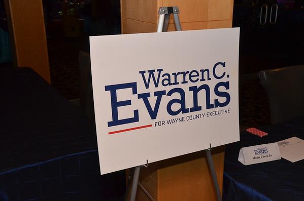 Warren Evans Election Night 2014