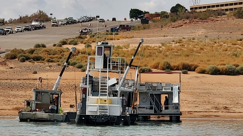 Houseboat recovery