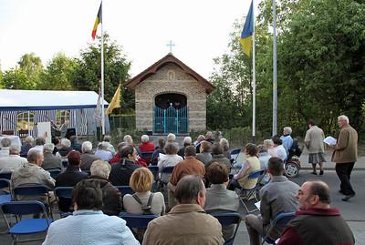 Inwijding gerestaureerde Lourdeskapel Kerkhofstraat