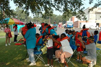 BassLife Teaching Children Safety, August 6th, 2005, at American Legion, Cross Lake