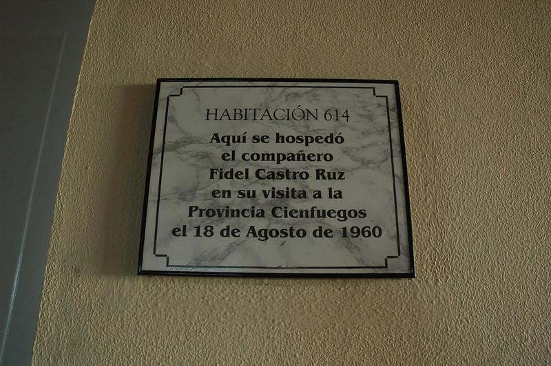 Fidel slept here - Leslie Rowley