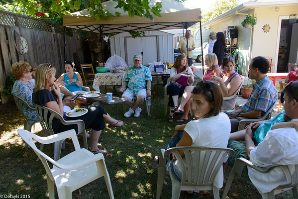 Don and Karen's Potluck in July 2015