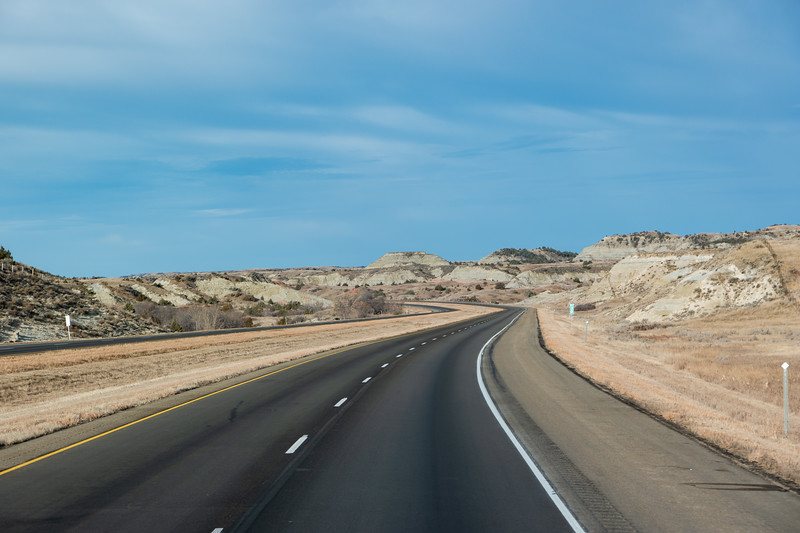 North Dakota Western Badlands