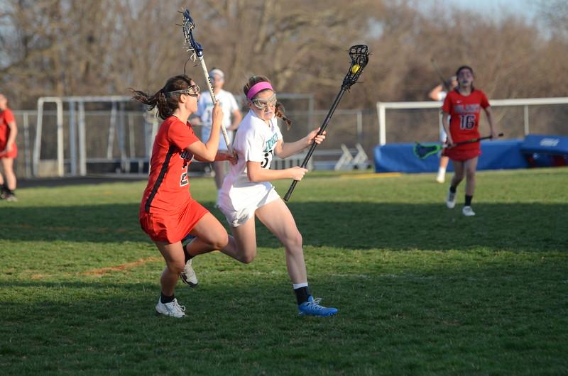 Varsity Girls Lacrosse Apr 13 vs Dulaney