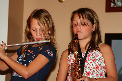 Musicians in the making.