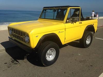 Bronco yellow