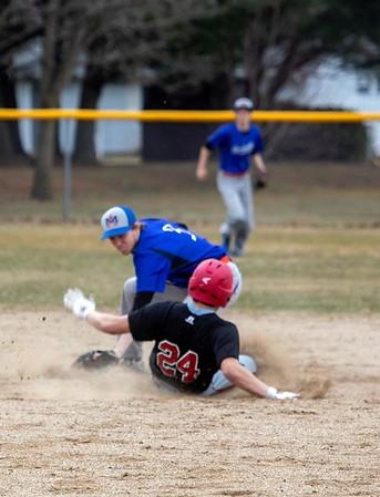 Highland @ New Glarus Baseball 4-5-19