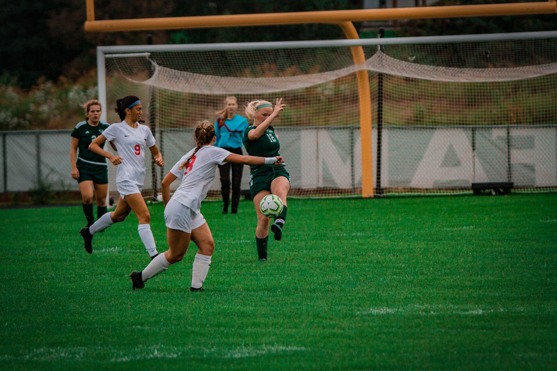 Holy Family Girls Varsity Soccer vs. Shakopee, 9/21/19: Caitlin Rock '20 (12)