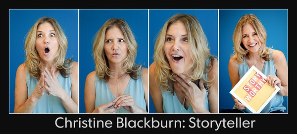 Tell me a story with Christine Blackburn