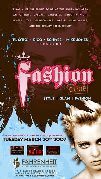 Fashion Club @ Fahrenheit 3.20.07