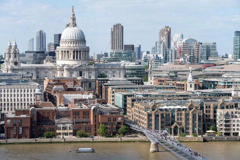 St. Paul's and the London skyline
