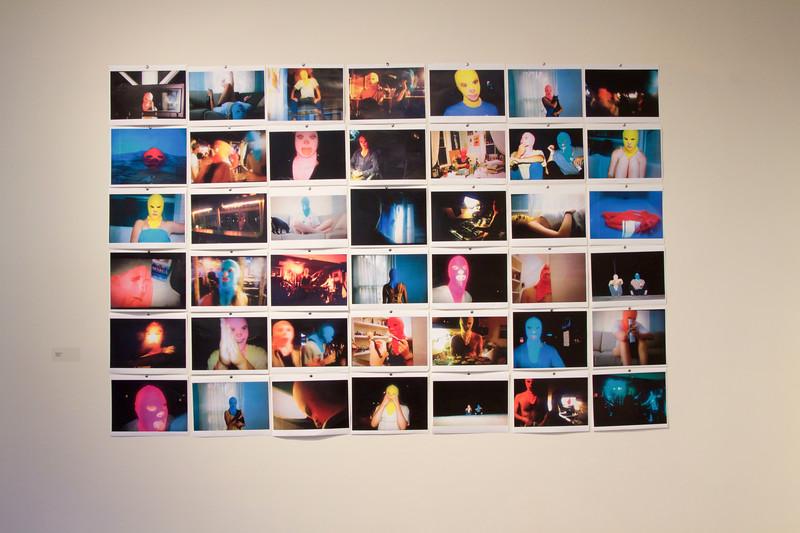 BFA & BA Senior Portfolio Exhibition Fall 2015, Installation View