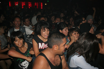 No Violence in Our Scene Music Festival - at Yost Theater - Santa Ana, CA - October 15, 2011