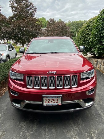Old Jeeps- 2014 Red