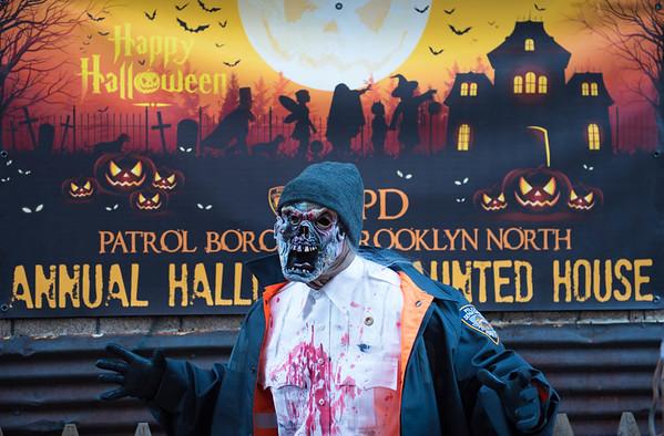 Patrol Borough Brooklyn North Halloween Pictures