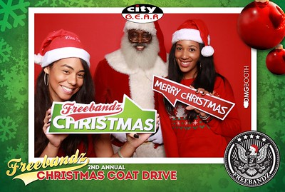 2014.12.21 Freebandz & City Gear 2nd Annual Christmas Coat Drive