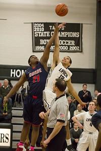 Friars Basketball vs Bishop Dunne 01.28.14