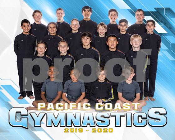 Pacific Coast Gymnastics Boys Team