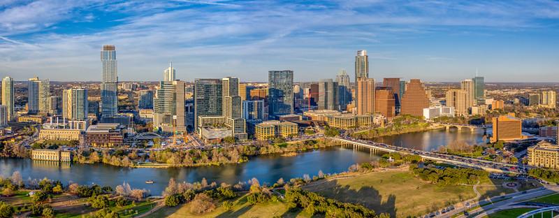Austin skyline, Wed, Feb 20, 2019