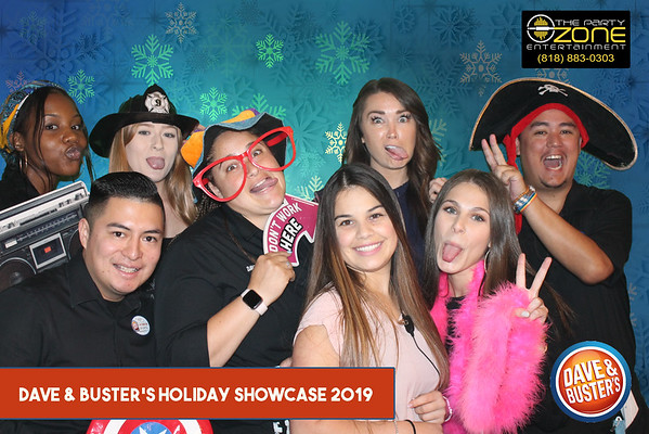 Holiday Showcase Dave and Buster's
