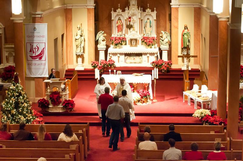 2012 Midnight Mass In Chappell Hill
