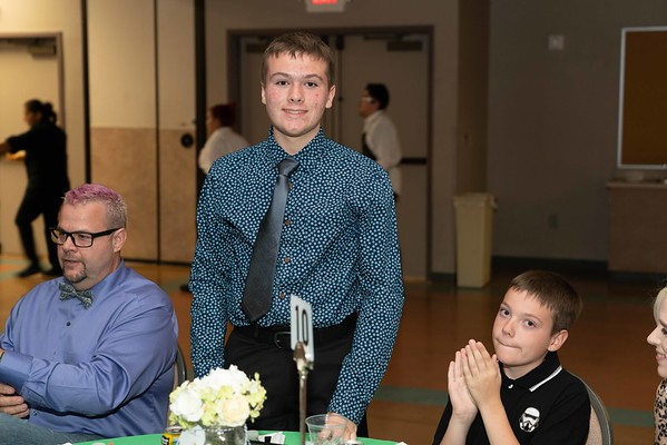 8th Grade Graduation Dinner at St. Elizabeth An Seton Catholic School