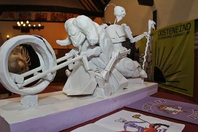 Bloemencorso 2011 - De maquettes