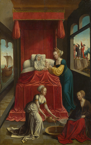 The Birth of the Virgin (?)