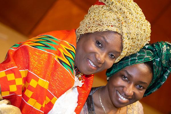 Hosting Liberian Officials