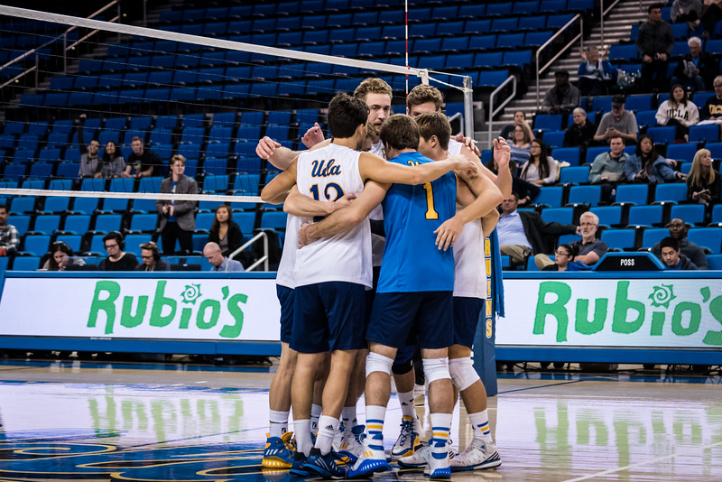 UCLA Men's Volleyball vs Cal Baptist @ Pauley Pavilion
