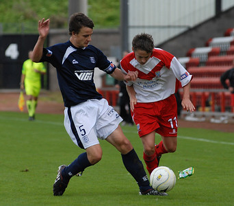 Airdrie v Dundee (1-1) 29 8 09
